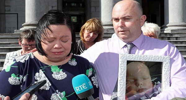 'We are devastated and will never be the same', says mother of baby who suffered brain damage during birth