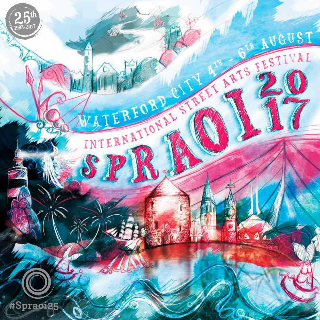 Spraoi 2017 is almost upon us! Hear what's coming up for the 25th anniversary