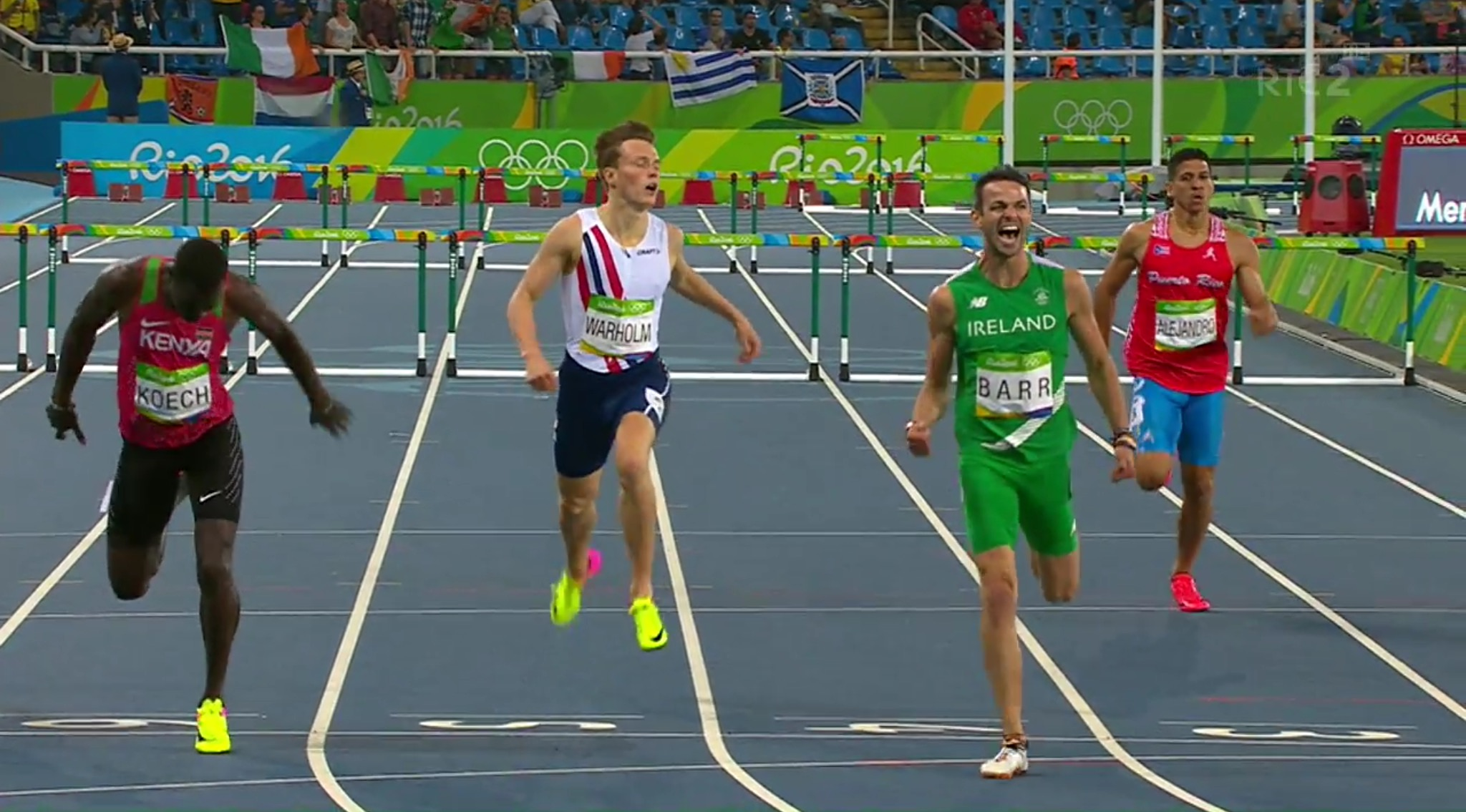 Thomas Barr gets ready for World Championships.