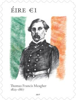 New stamp celebrates Waterford 'Father of the Flag'.