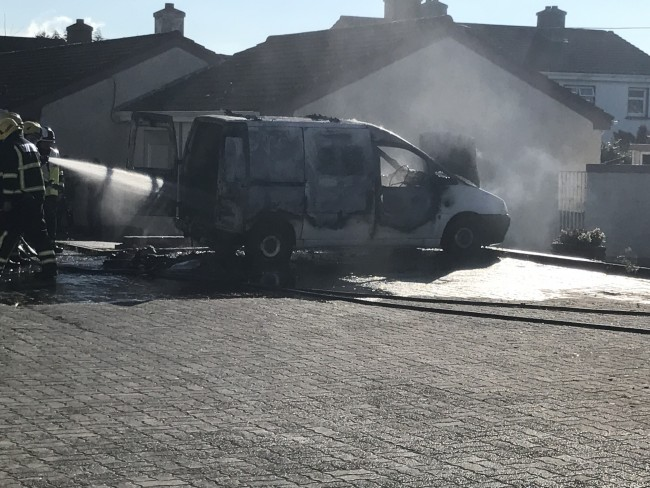Man arrested after vehicle fire in Waterford City Housing Estate