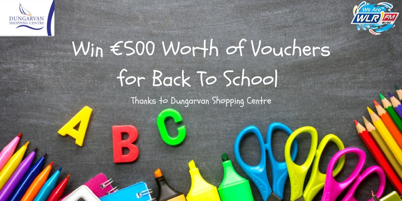 Win €500 worth of vouchers for back to school thanks to Dungarvan Shopping Centre on The Big Breakfast Blaa