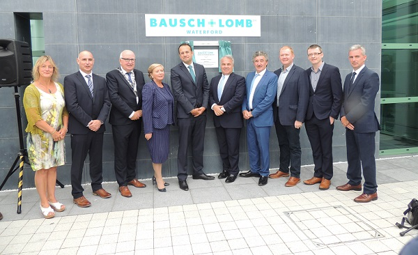 Taoiseach says €85m Bausch + Lomb investment represents the type of future possible for Waterford