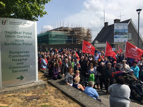 Hopes full services will resume at Dungarvan Hospital