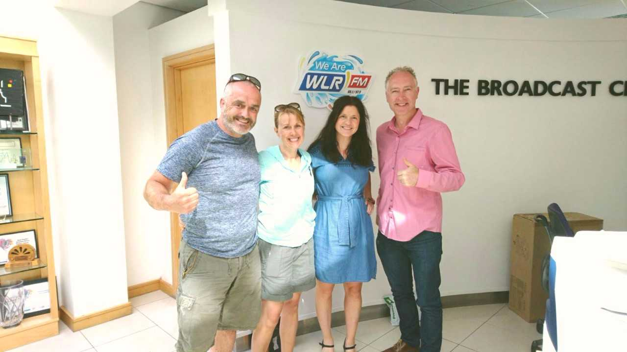 """Washing Machine Man"" Enda Doherty tells Ollie and Mary about The Pieta Challenge to Kilimanjaro"