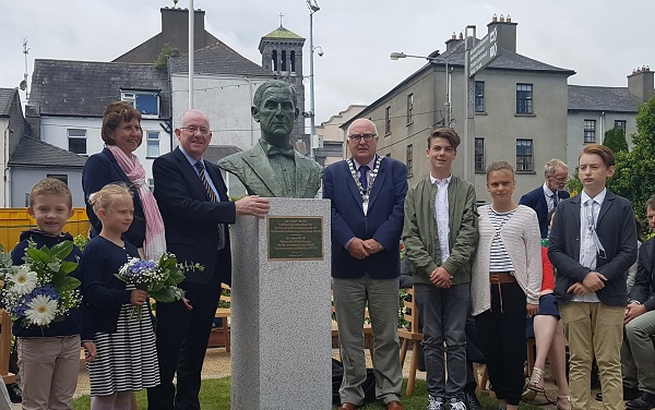 Waterford-born architect of Irish Constitution receives memorial in Waterford City
