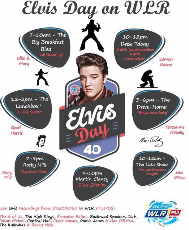 Elvis Day on WLR