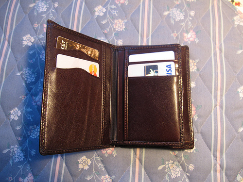 Lost:  A brown leather wallet