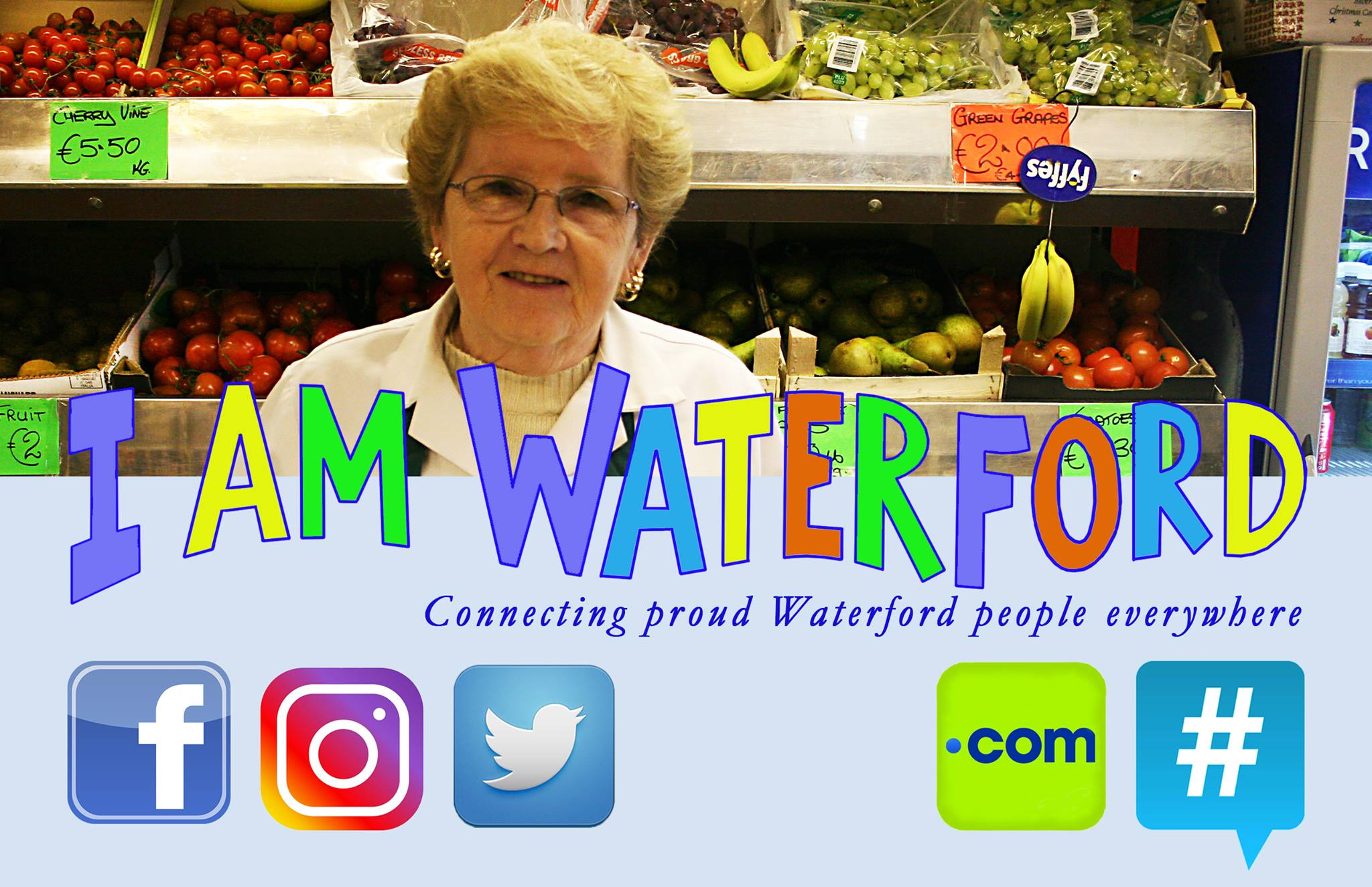 "Thousands of people have engaged with ""I am Waterford"" online"