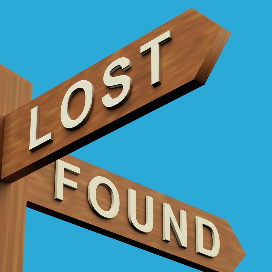 Lost: Black Leather Wallet