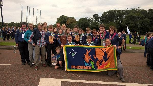 Ferrybank Scouts win the Phoenix Challenge