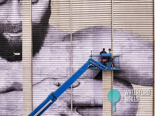 Visual artists transform 40 Waterford Walls