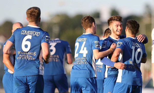 Waterford FC hoping to continue promotion push on the road to Cabinteely this evening
