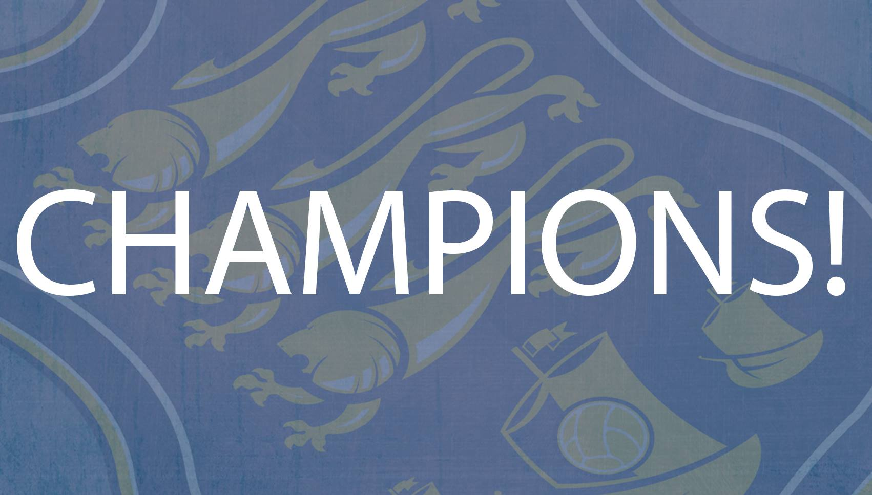 Waterford FC are champions of the SSE Airtricity First Division