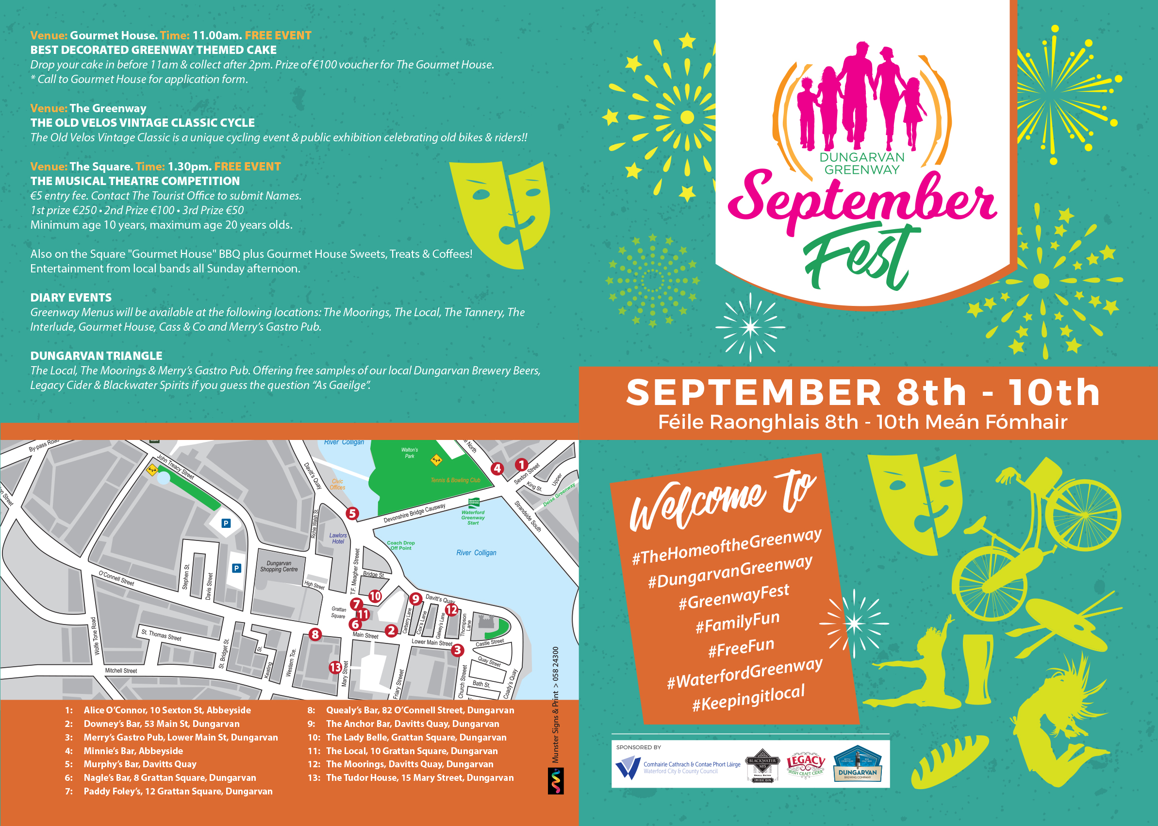 Hear all about the Dungarvan Greenway September Fest