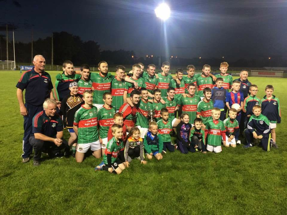 Rathgormack crowned Division 1 Co. Minor football Champions