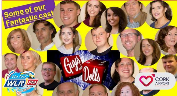 Dungarvan Playhouse presents Guys&Dolls next week in Dungarvan Town Hall Theatre!