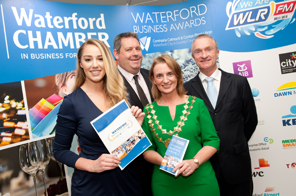 Nominations are now being accepted for the 2017 Waterford Business Awards
