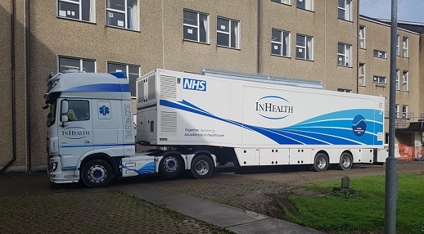 Mobile cath lab arrives at University Hospital Waterford