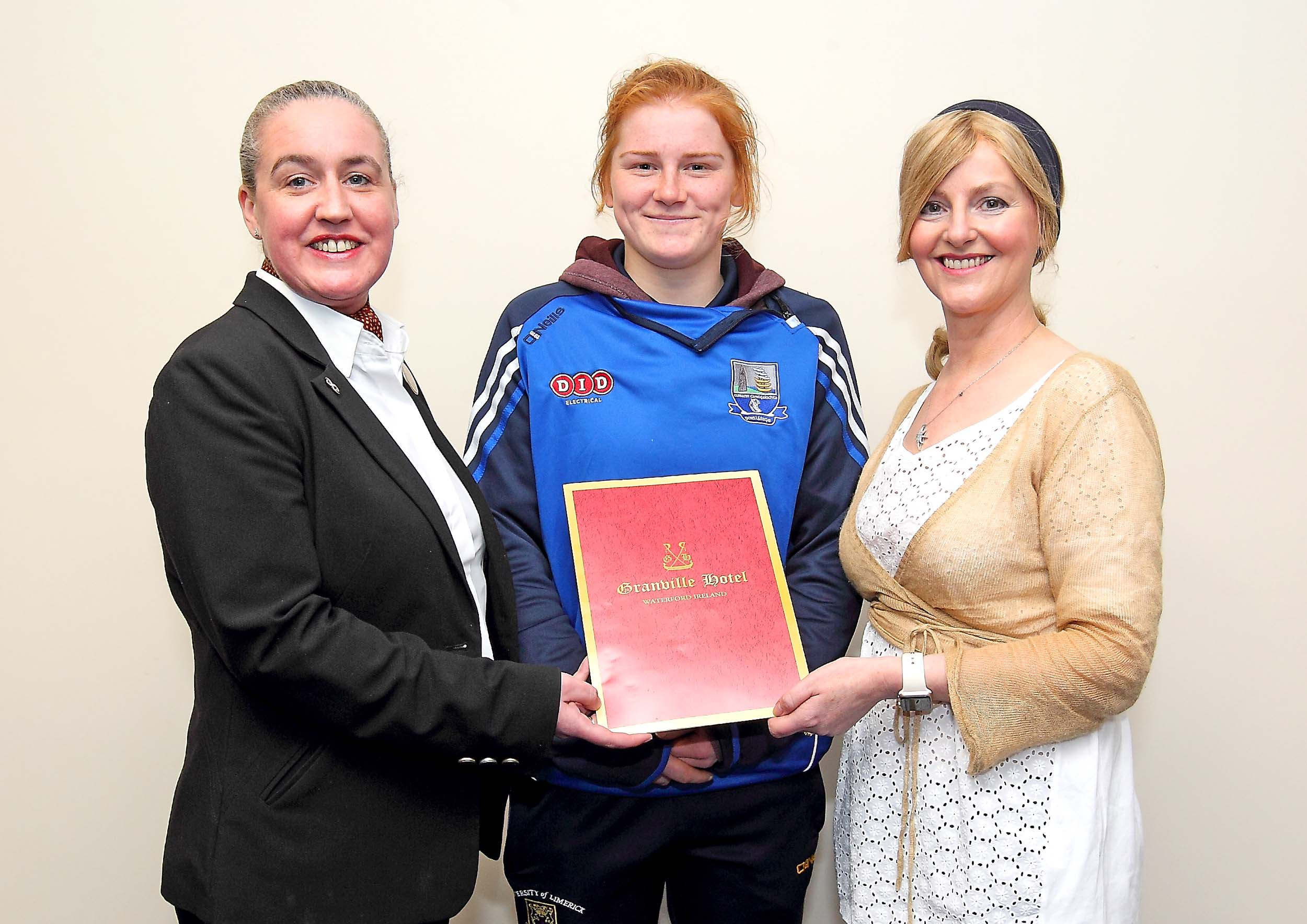 Beth Carton the sole Waterford nominee for a camogie All Star award.