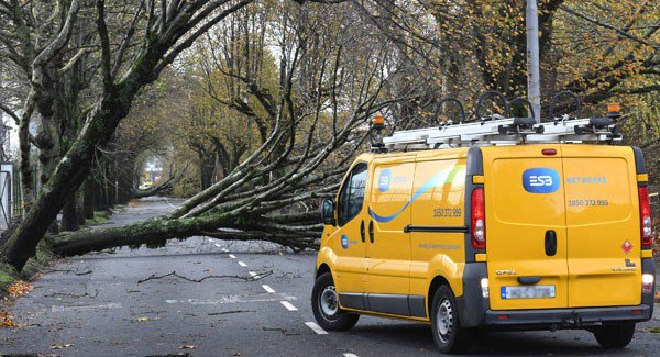 Over 10,000 homes around Waterford remain without power Wed morning