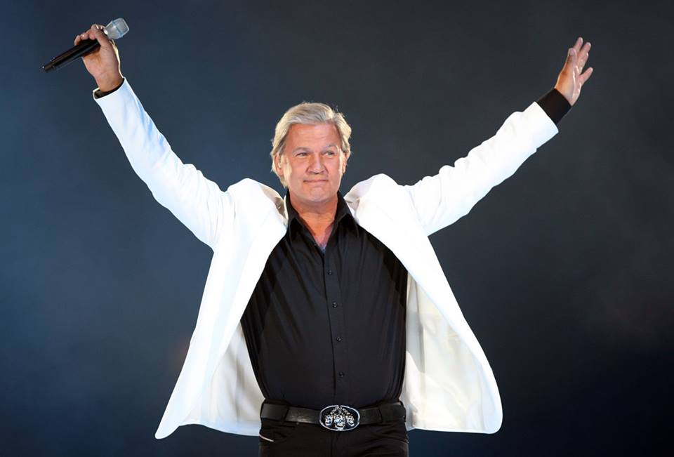 Johnny Logan's playing Waterford on Friday!