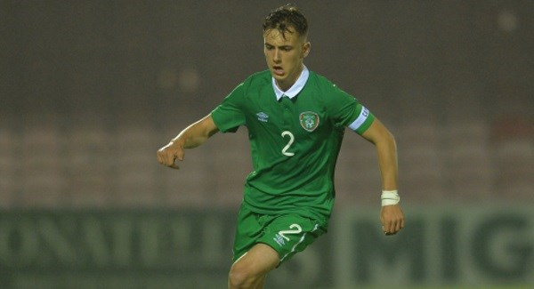 Under 19 Manager praises Waterford player after they top their European qualifier group.