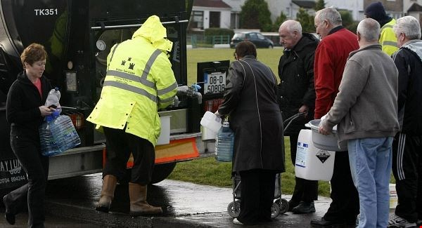 Water returns to 18 sites, but 500 customers still dry around Waterford