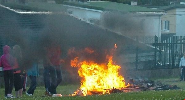 People in Waterford asked to report bonfire preparations.