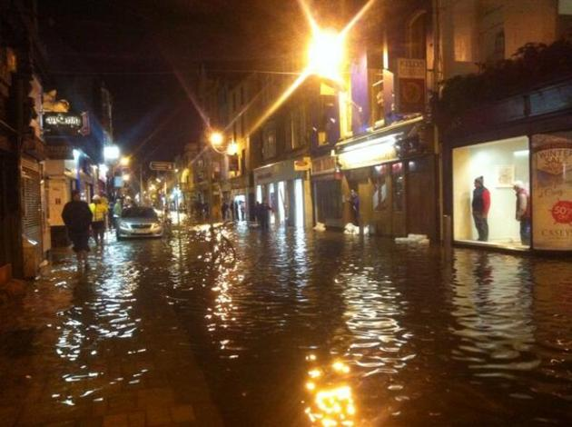 WARNING: Dungarvan likely to flood this evening