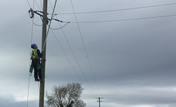 ESB working to restore power to a number of areas in County Waterford.