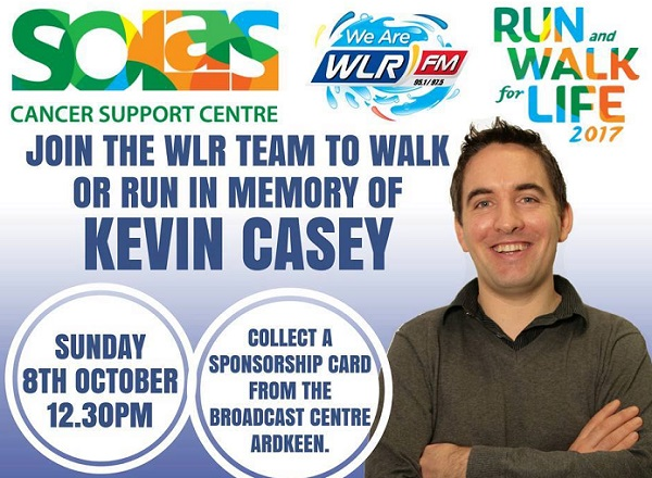 Solas Centre 'Run and Walk for Life' takes place in Waterford today