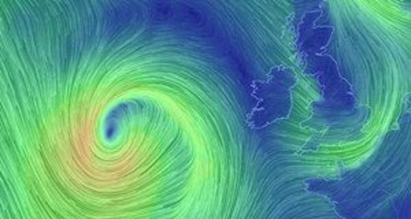 Orange weather warning ahead of Storm Brian