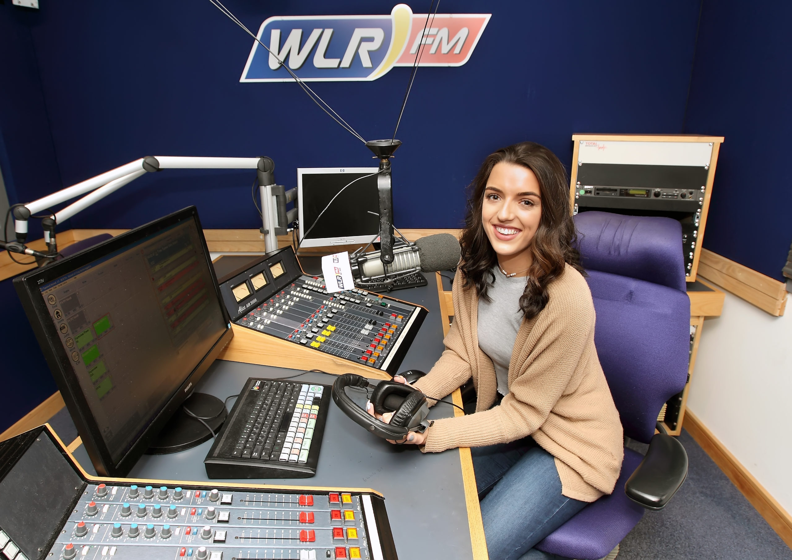 Radio student becomes a radio presenter
