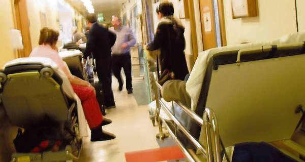 UHW most overcrowded hospital in the country today