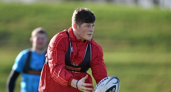 Waterford's Jack O'Donoghue is named in the Munster team to take on The Dragons