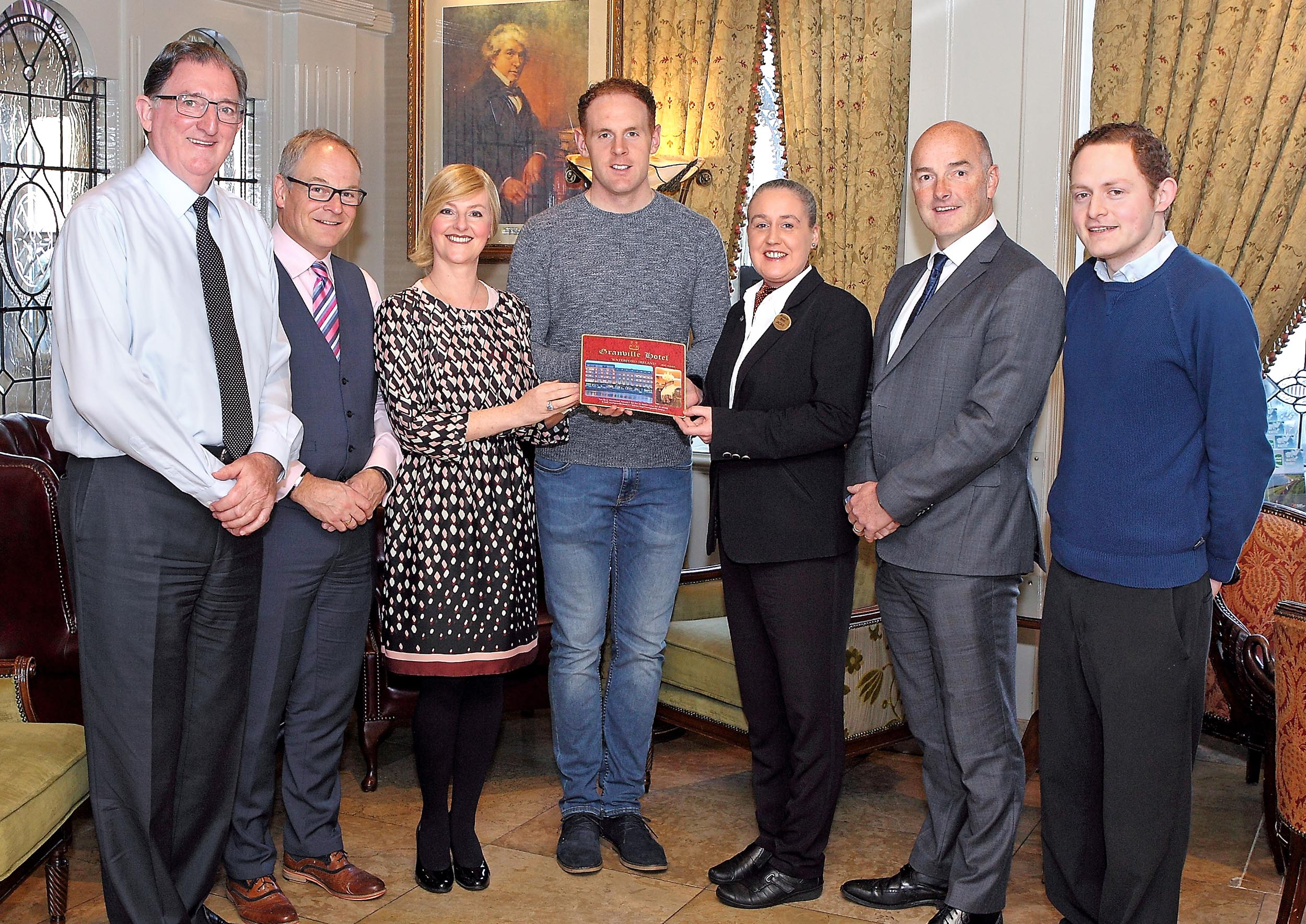 Kevin Moran is the September winner of the WLR / Granville GAA Award