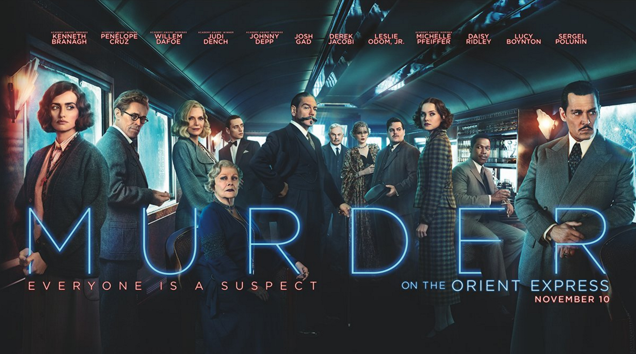 """""""Murder on the Orient Express"""" has a huge Hollywood ensemble but Maria McCann isn't totally convinced"""