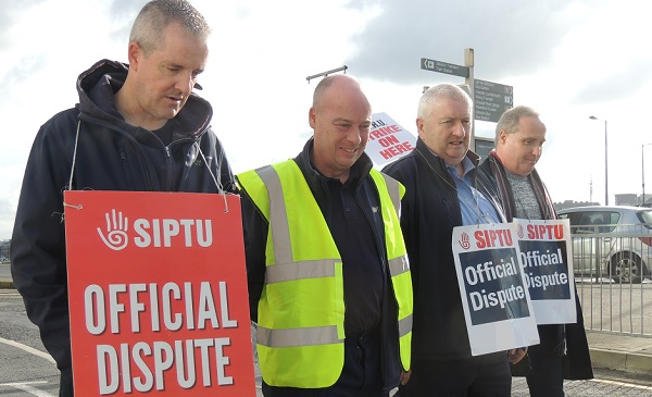 Waterford SIPTU say striking rail workers have been left with no choice