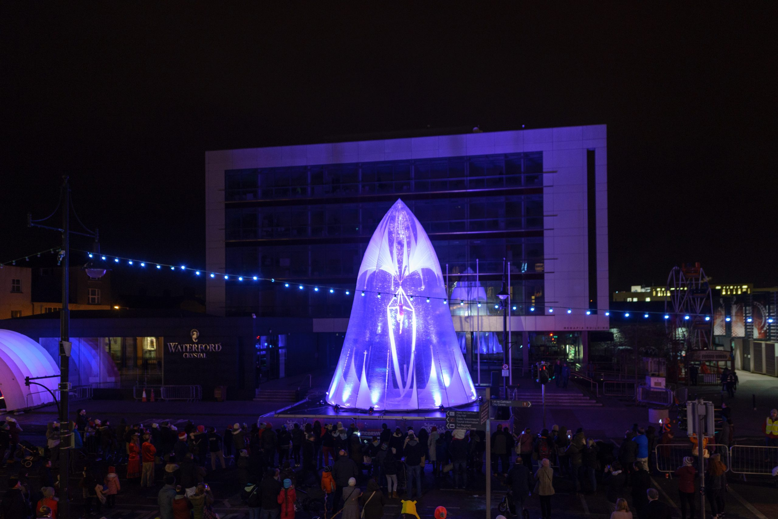 Spraoi's All That Glistens on The Mall at Winterval was a dazzling success on Saturday