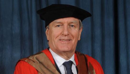 Waterford native and Ireland's Ambassador to the US, Dan Mulhall, receives honorary doctorate degree