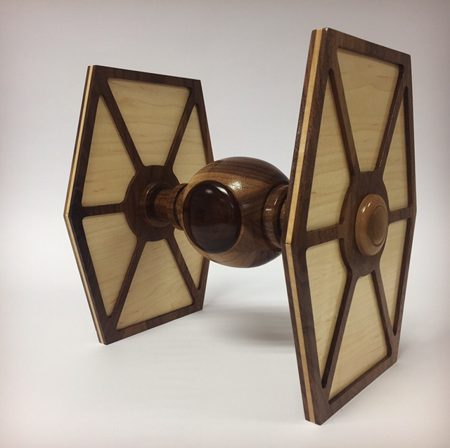 Waterford based craft company, Copper Coast Woodcrafts, showcasesStar Wars flair this Christmas