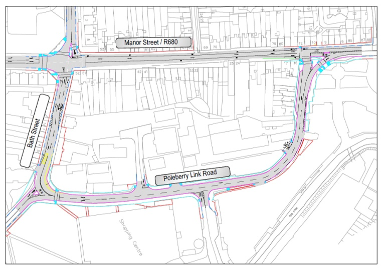 Changes to traffic flow along Waterford's Manor Street to take effect on Friday