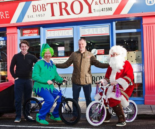 Cycle with Santa and win a brand new bike