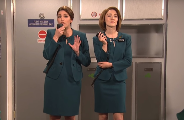Questionable fashion choices of Fine Gael, Arlene Foster's singing and the Aer Lingus sketch all make Twitter Thursday