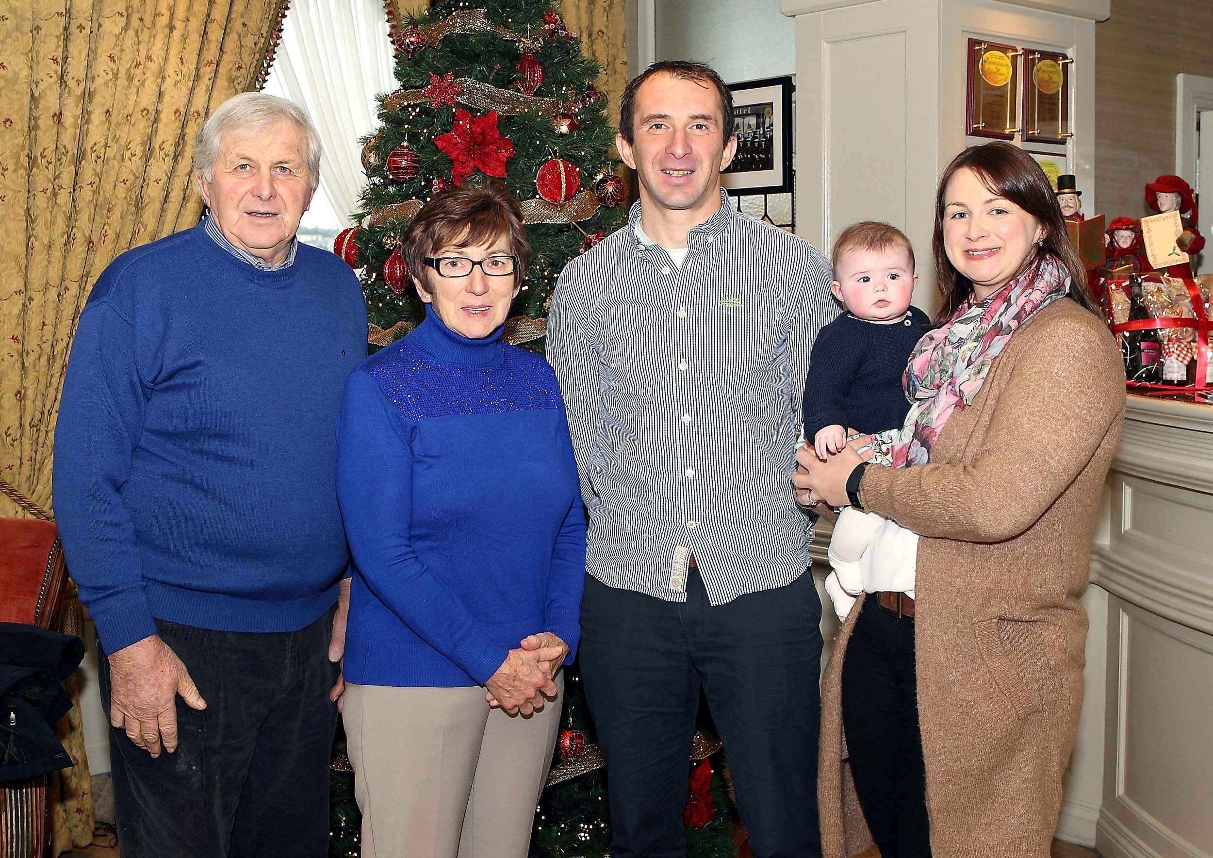 Seamus Prendergast wins December WLR Granville Hotel GAA award.