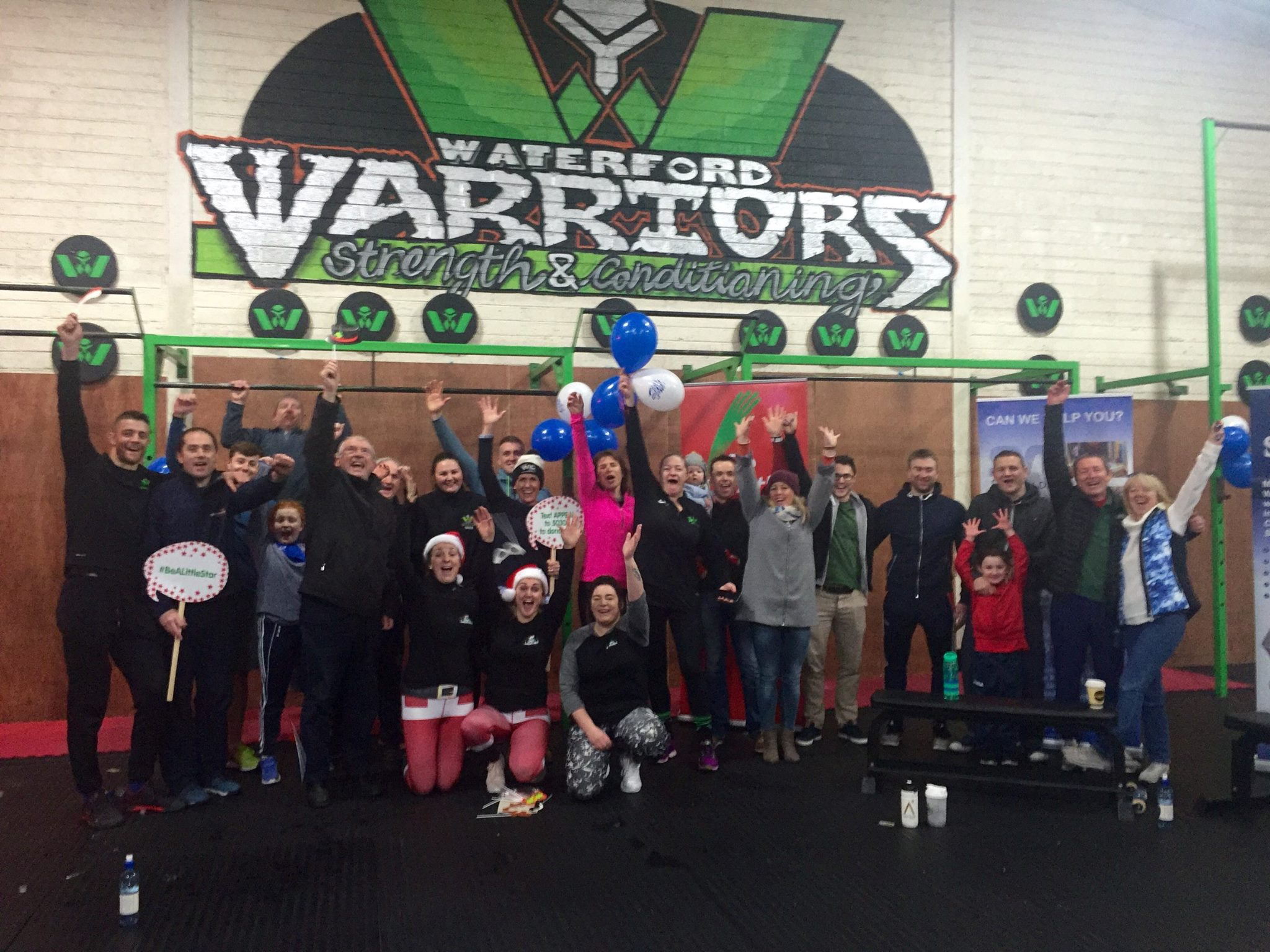 Waterford Warriors 24 Hour Row raises close to €20,000 for the WLR Christmas Appeal