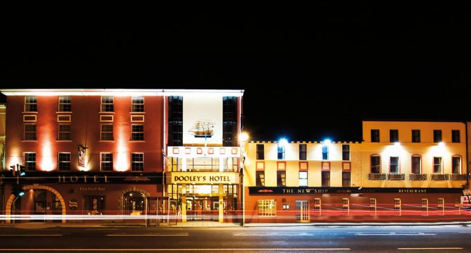 Staff at Dooley's Hotel in Waterford City help to deliver a baby.