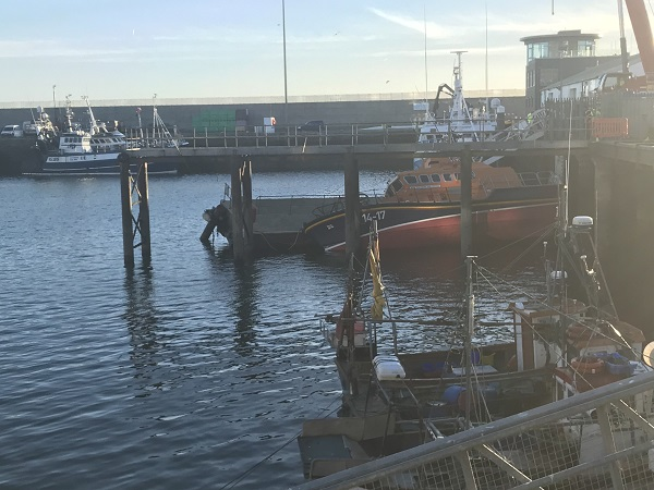 Dunmore East RNLI lifeboat damaged in harbour crash
