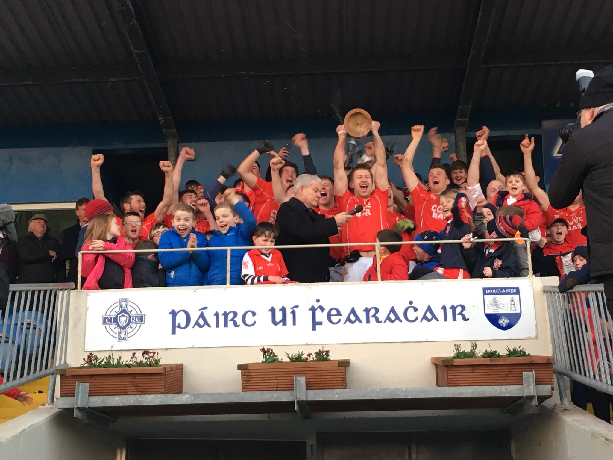 The Conway Cup is heading to Stradbally for a 19th time
